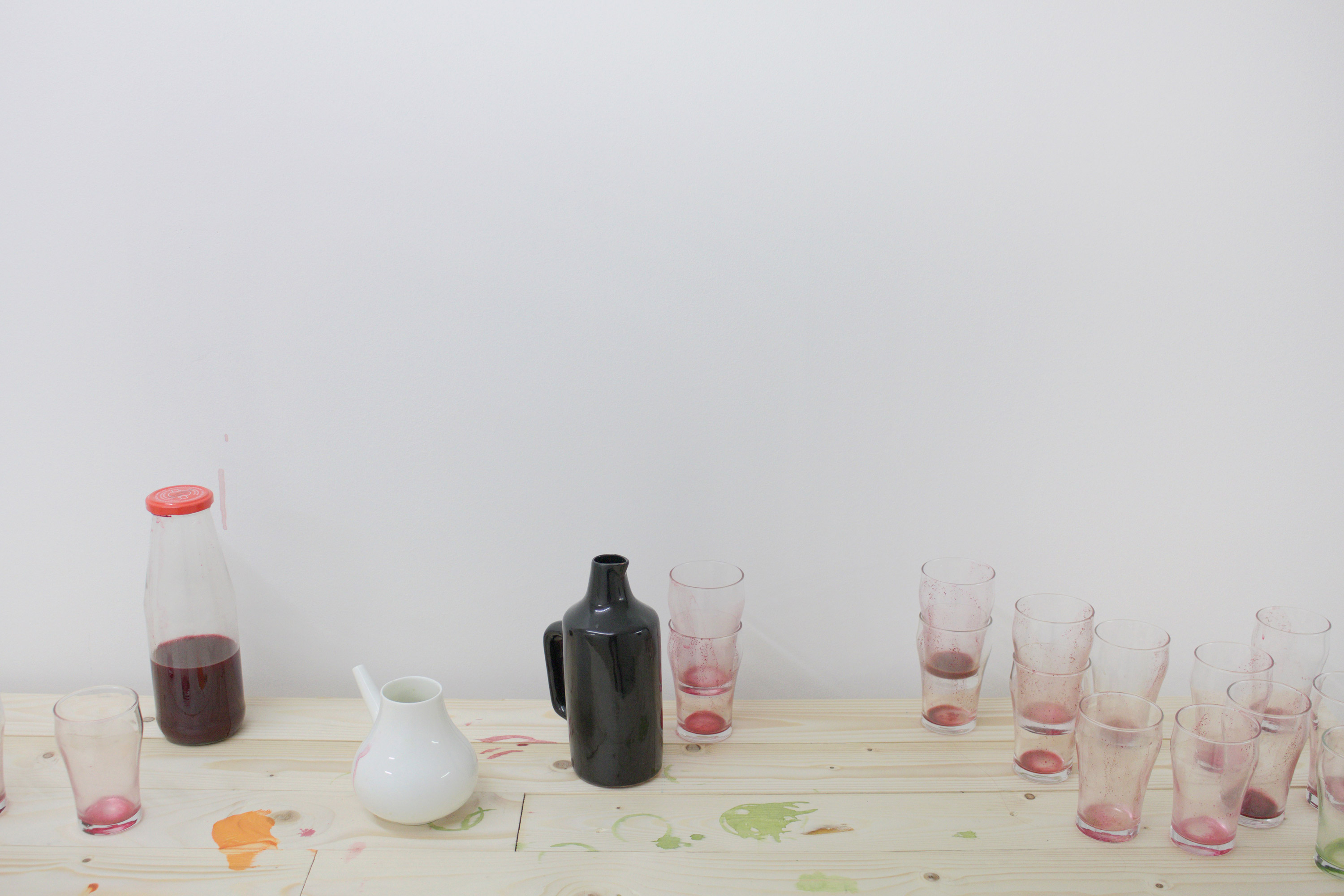 """Nerijus Rimkus, """"It's Not Meant To Be Pretty"""", installation view, The BOX, Arnhem, 2015"""